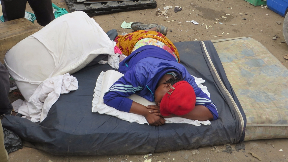 Many residents from Badia East, the largest slum in Lagos, are still sleeping out in the open, after their homes were demolished on 18 September.