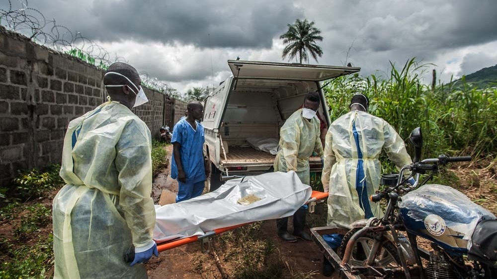 Ebola burial teams in Sierra Leone are still performing hundreds of precautionary burials each week, even though there haven't been any cases in a few weeks.