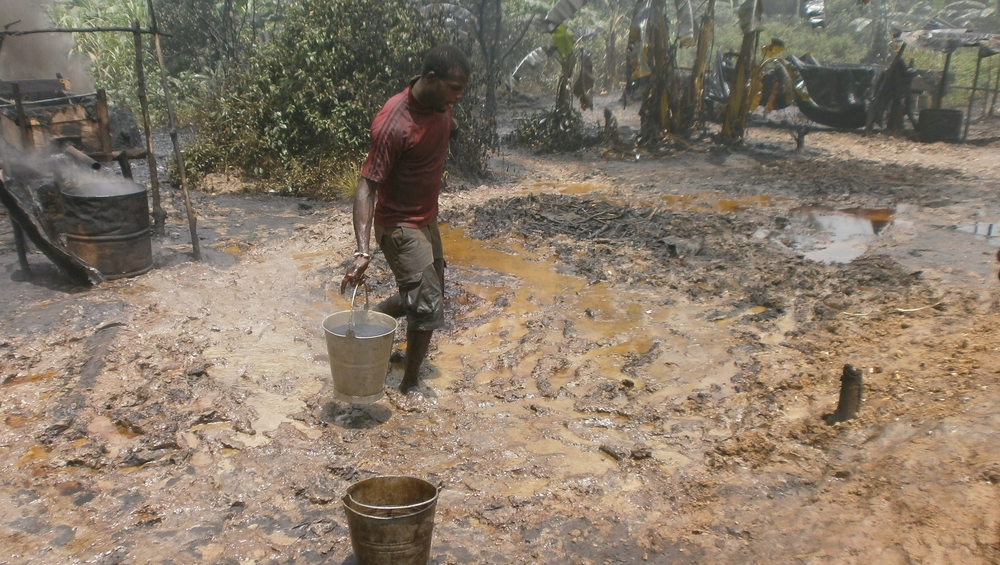 Local refining in the Niger Delta