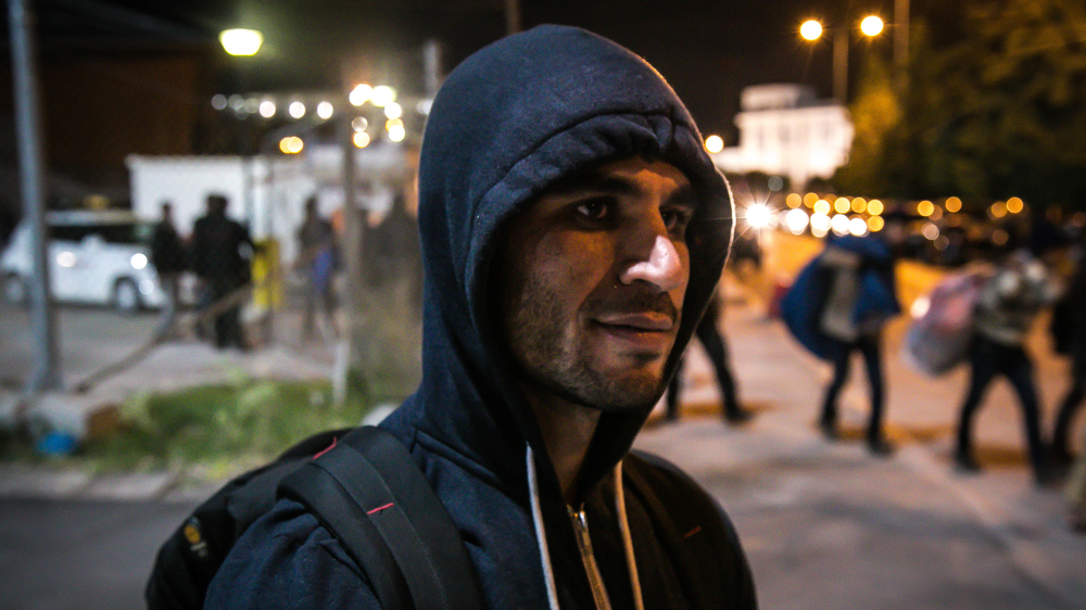 Hanif, 28, spent over a month travelling from Peshawar to the Greece-Macedonia border, only to be turned back because of new restrictions that only allow certain nationalities to cross.