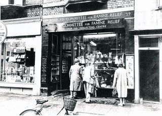 The first Oxfam shop, 1947