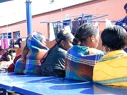 [South Africa] Only 20 percent of those at Lindela repatriation centre are women.