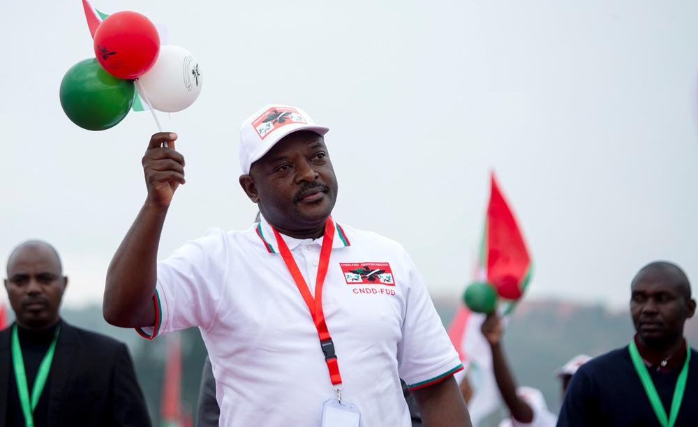 Pierre Nkurunziza: Burundi rebel leader turned controversial president