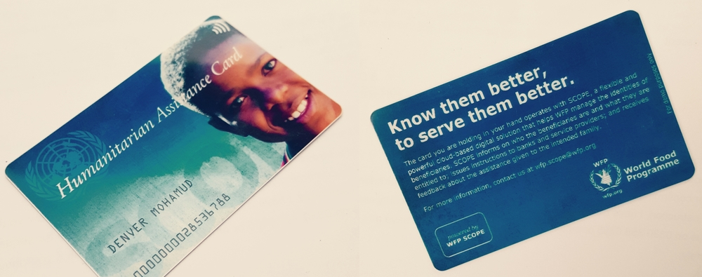WFP's SCOPE card for aid operations