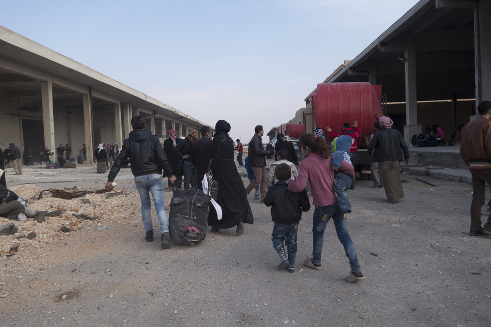 IDPs southeast of Aleppo
