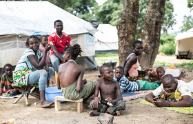 Razed villages and empty fields await Congo-Brazzaville's displaced