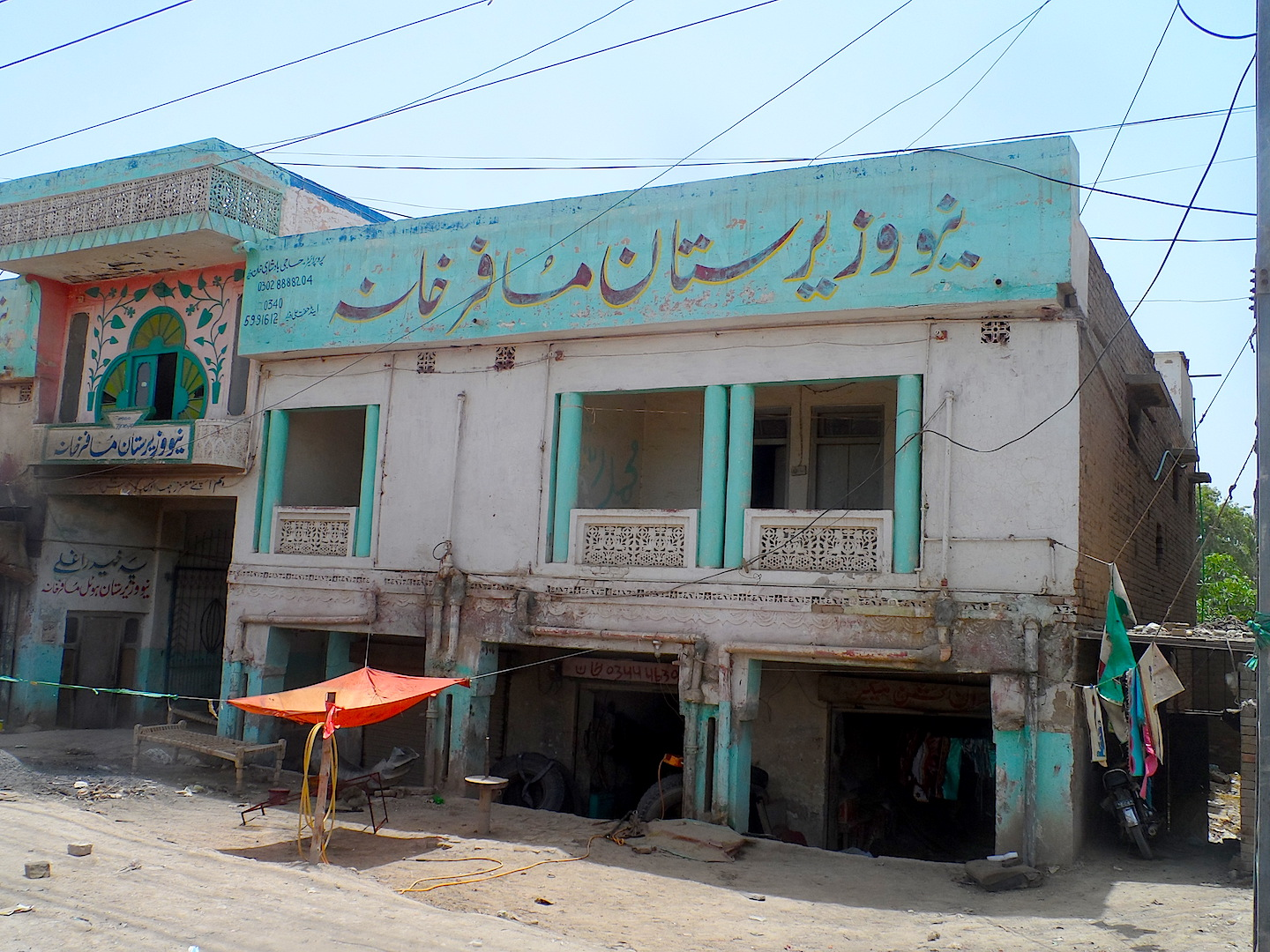 A building in Dera Ismail Khan District where locals say Taliban members have been meeting
