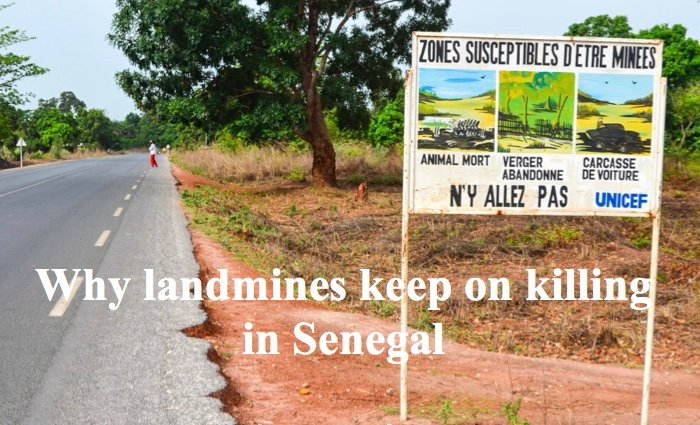 Why landmines keep on killing in Senegal