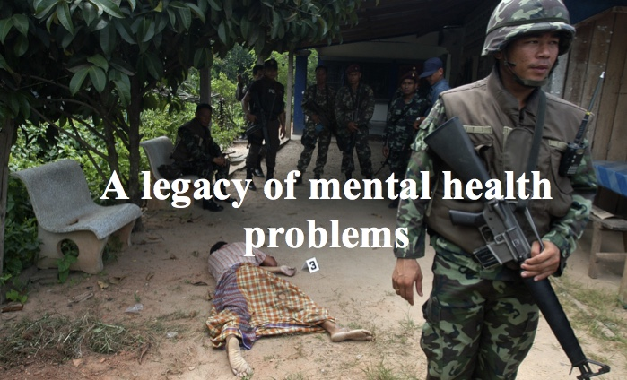 Southern Thailand - A legacy of mental health problems