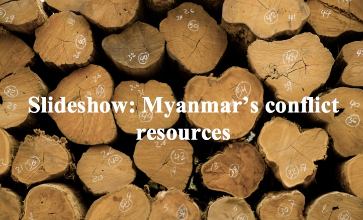 Slideshow: Myanmar's conflict resources