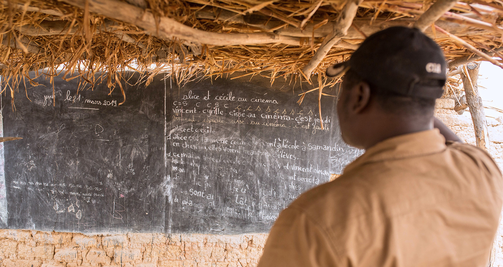 A school in northern Burkina Faso is abandoned after an attack by jihadists.
