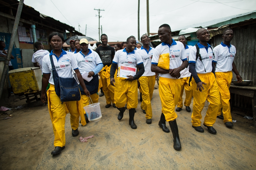 Ebola Community Health Volunteers