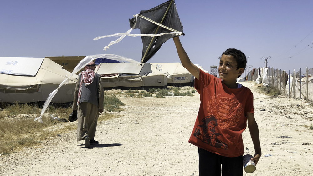 North East Syria, Al Hassakeh Governorate, Al Hol camp for internally displaced persons