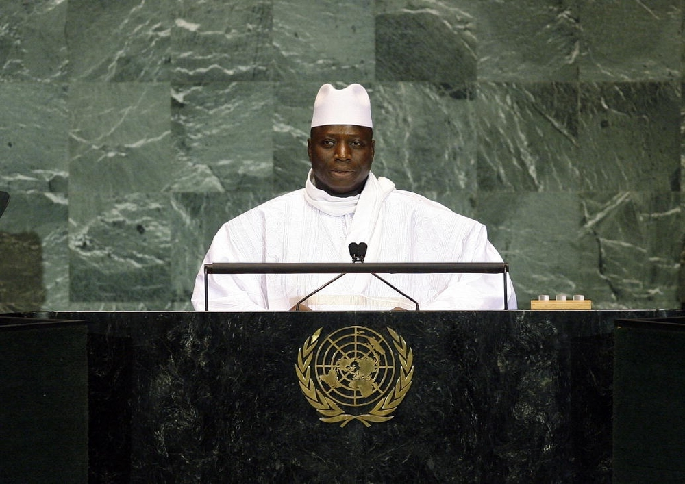 Yahya Jammeh, President of the Gambia