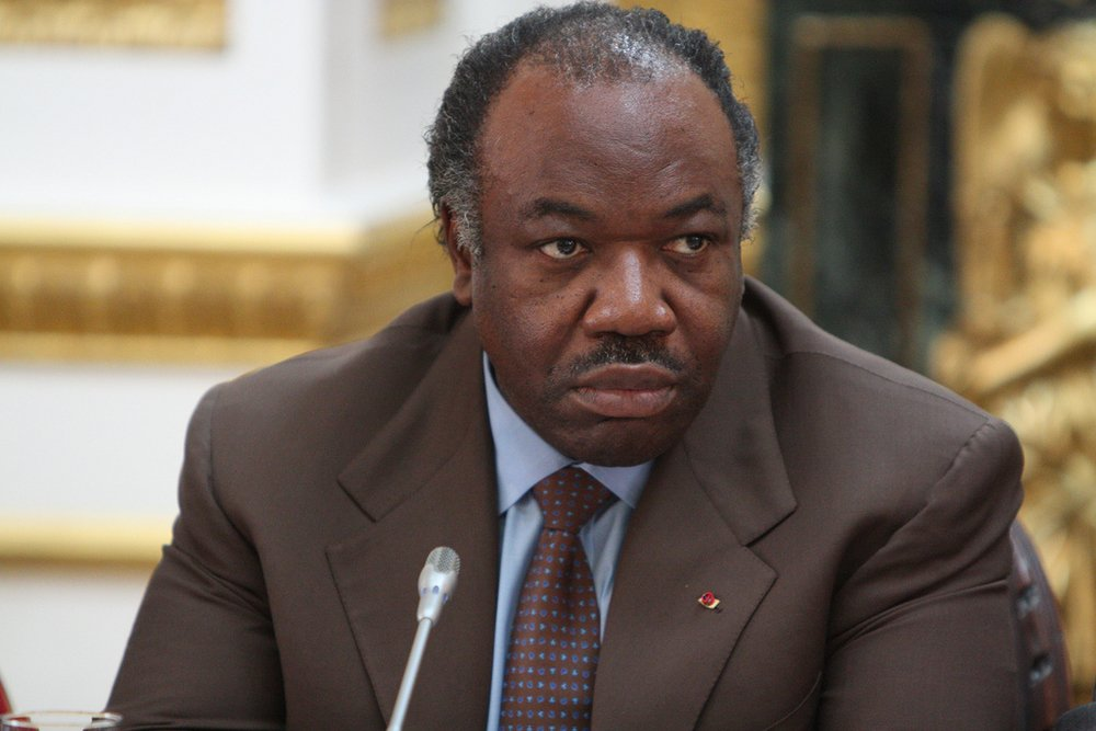 Ali Bongo at the Climate Conference in 2012
