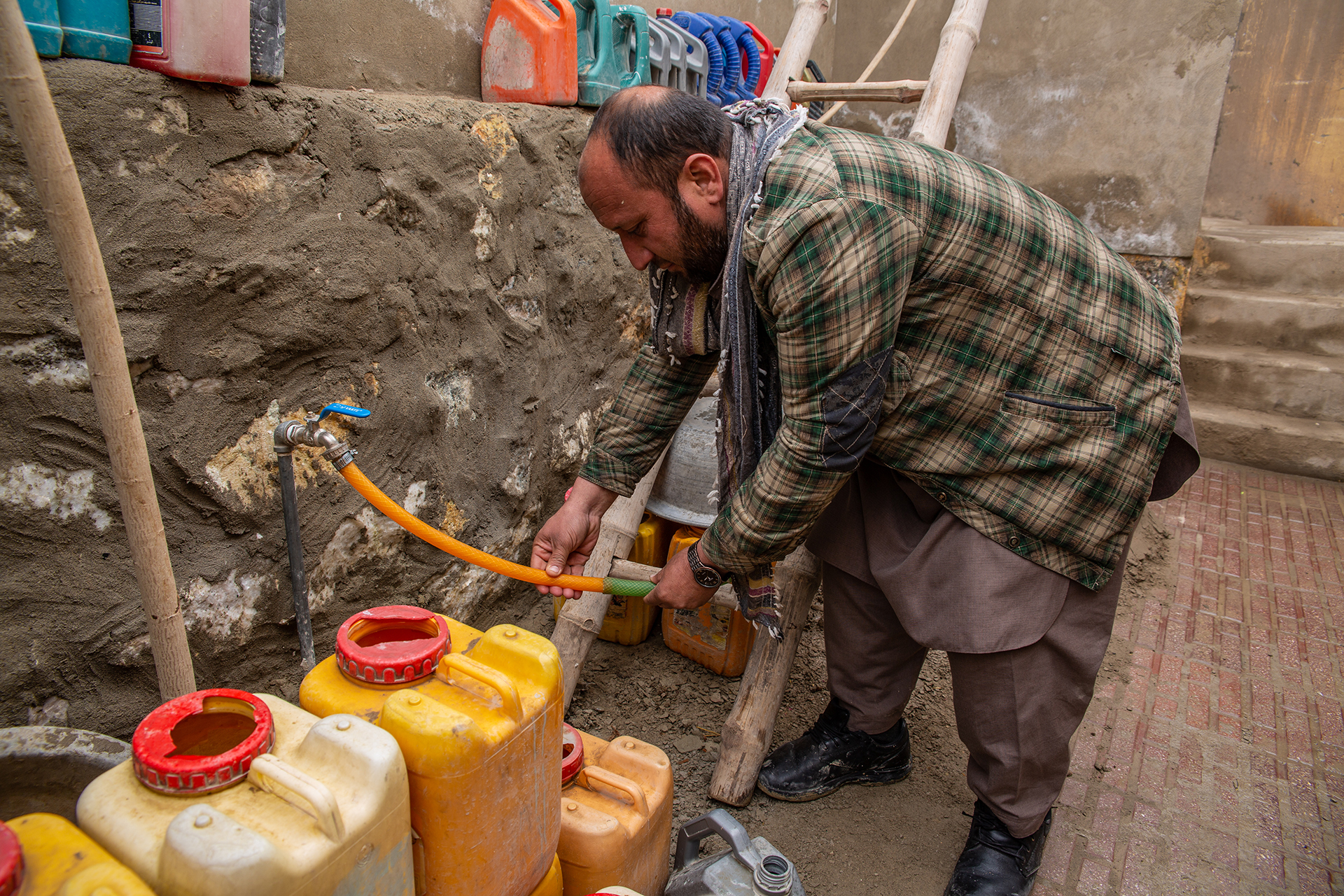 As Afghanistan's capital grows, its residents scramble for clean water