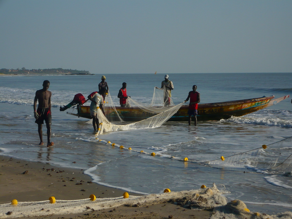 Fishermen in Casamance, Senegal