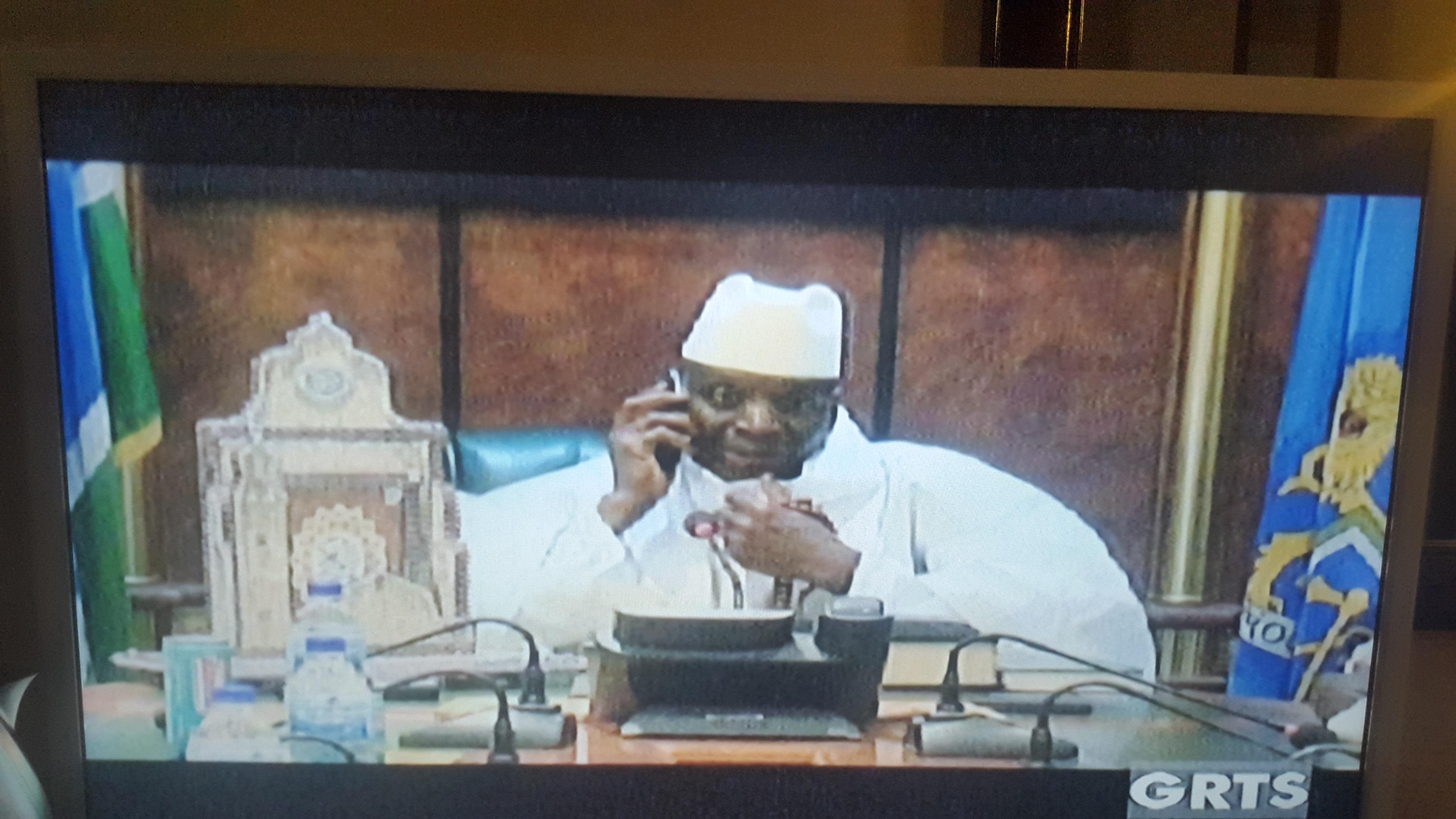 Jammeh concedes