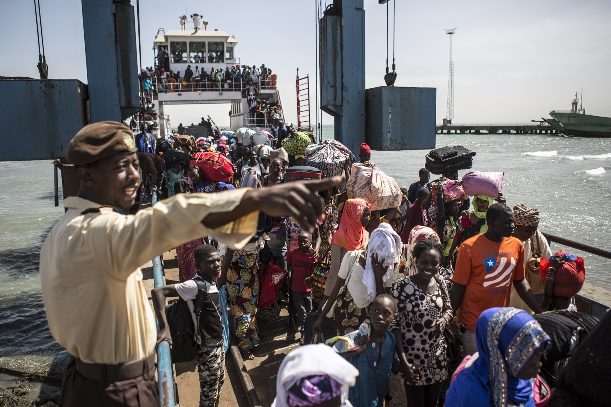 Gambians that fled come home