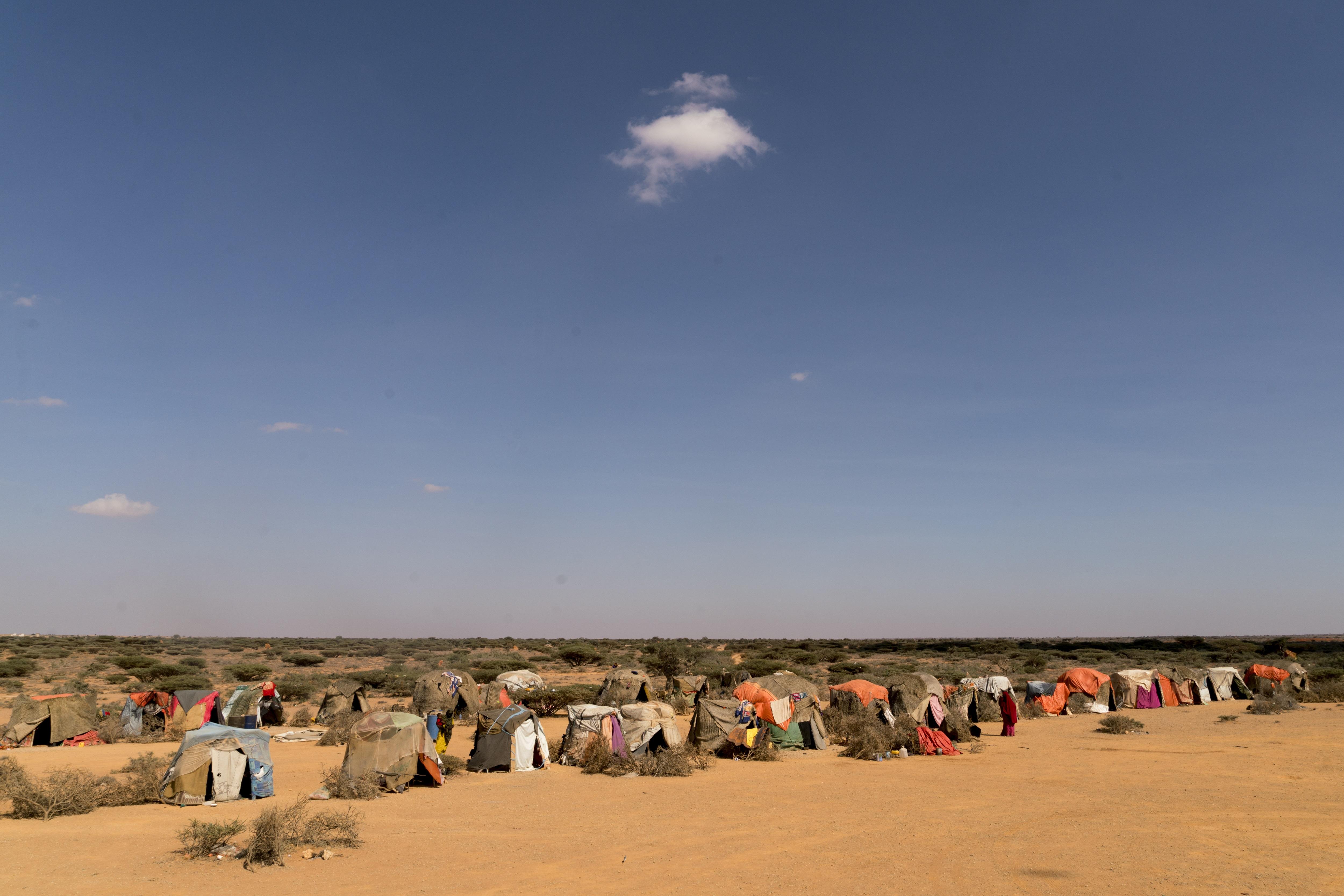 IDP camp Puntland