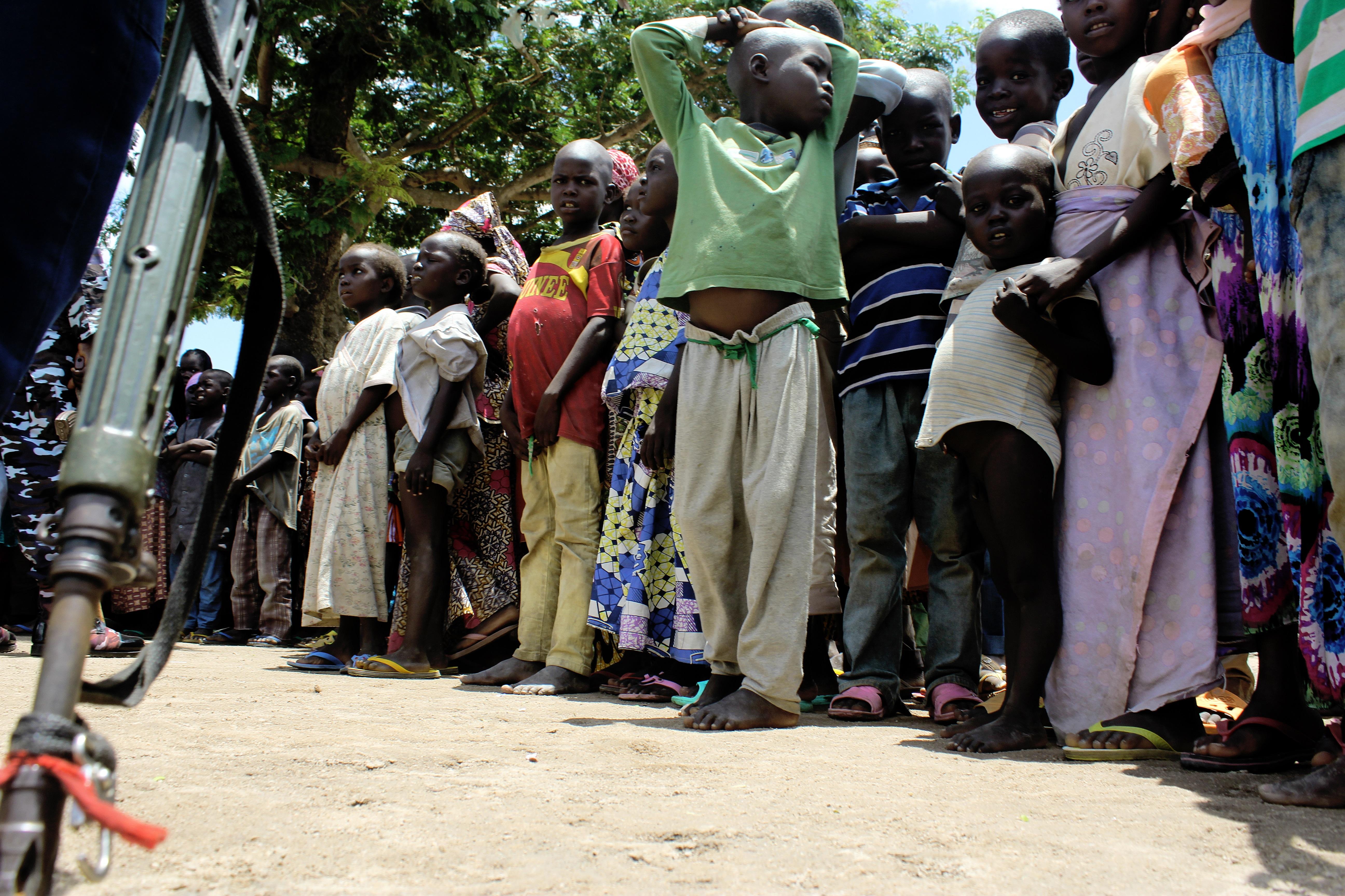 IDP camp Adamawa