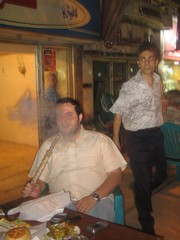 [Egypt] The dangers of Shisha smoking are not widely known in the Middle East, experts say. [Date picture taken: 06/05/2006]