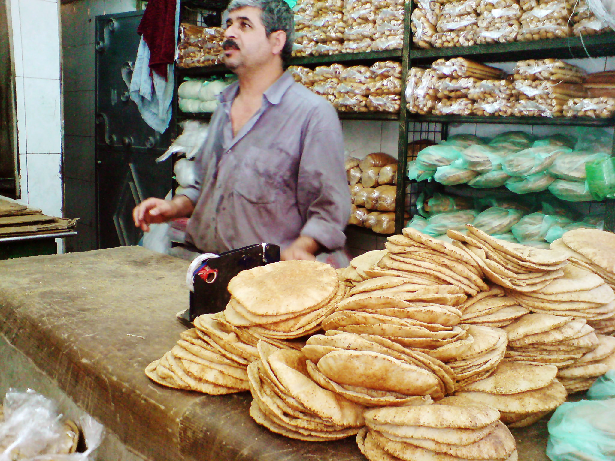 "The Syrian finance minister has said withdrawing bread subsidies is a ""red line"", but failing harvests and soaring international wheat prices may be forcing a re-think."