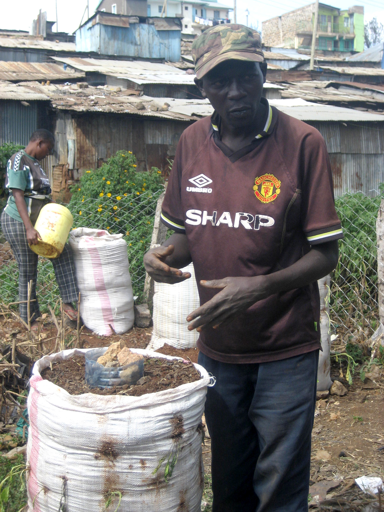 Irin bag a farm for Soil king compost