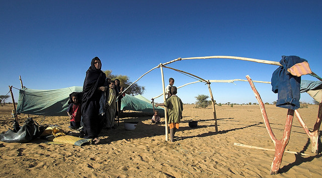 Tuereg nomads in northern Mali. 3 April 2012