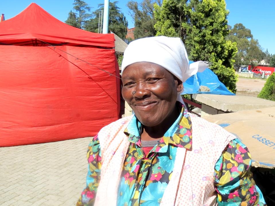 'Mammuso Lebakeng – Crafts trader, Lesotho