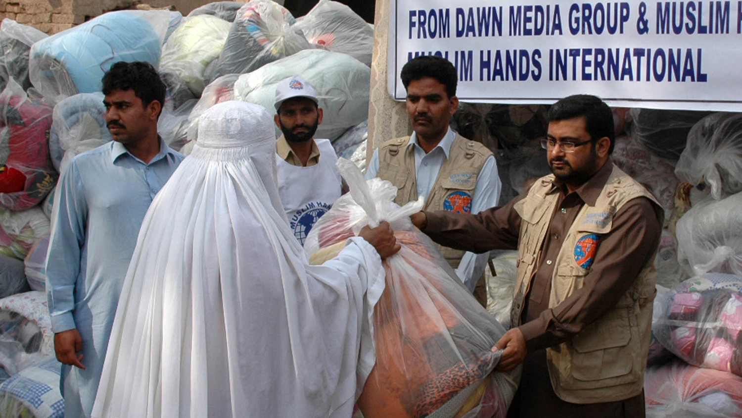 Aid distribution of food and non-food items in Khyber Pakhtunkhwa (KP) Province, Pakistan