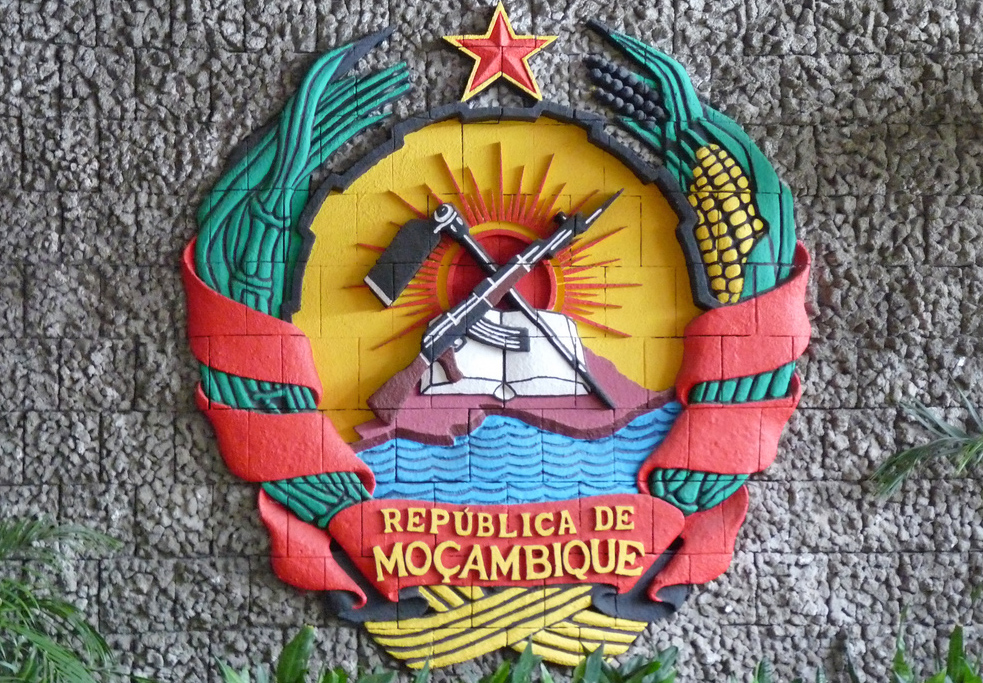 Crest of Mozambique