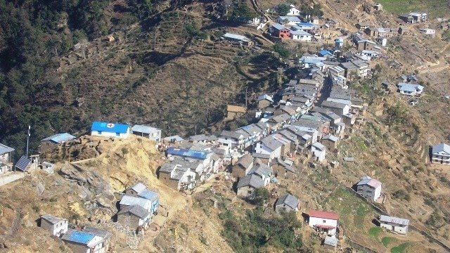 Villages and communities in the hill regions, a major portion of Nepal, are most at risk to landslides