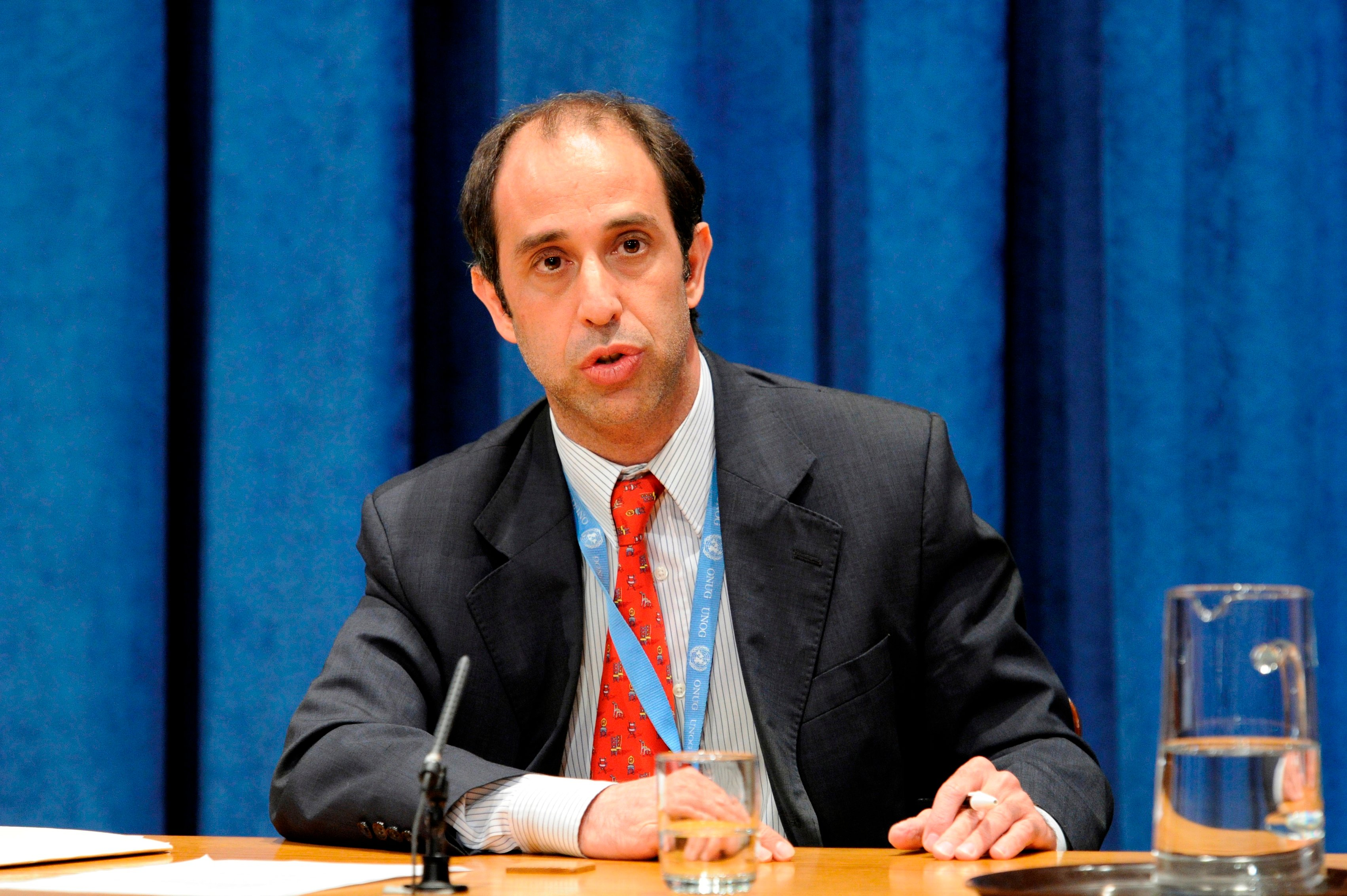 UN Special Rapporteur on the situation of human rights in Myanmar, Tomas Ojea Quintana