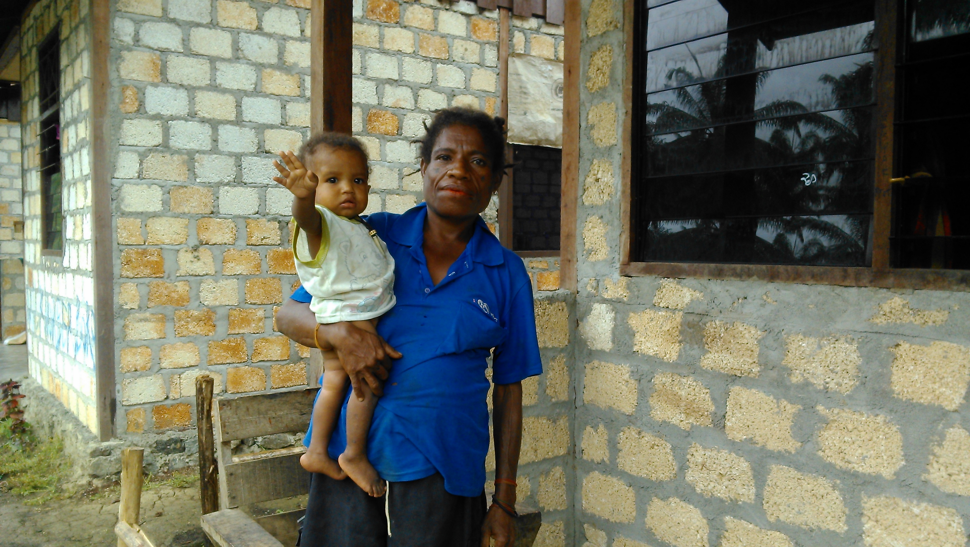Rose Gilbes fled fighting in Papua province for neighbouring Papua New Guinea whose return home has been inhospitable