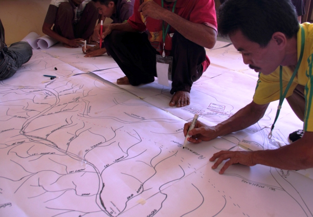 Indigenous communities in Indonesia are using GPS technology to demarcate the boundaries of their ancestral lands, a move many believe could also help mitigate the negative effects of climate change