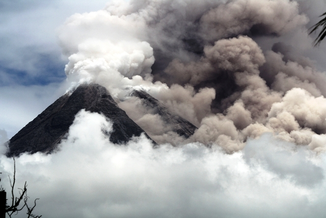 Mount Merapi is one of 130 active volcanoes in Indonesia