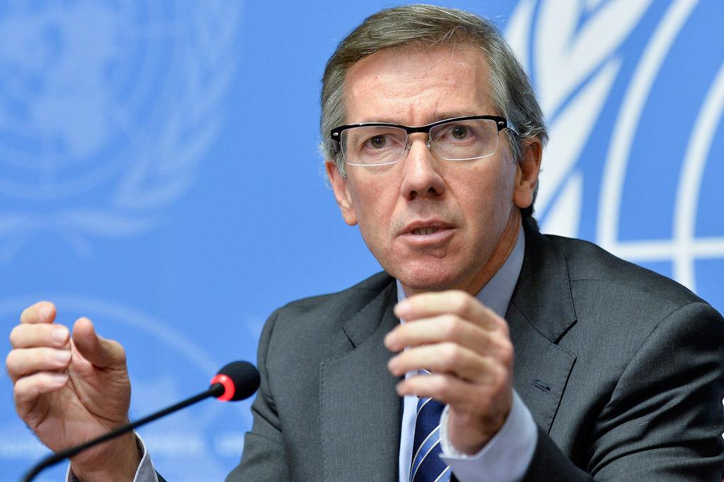 Caption: Bernardino Léon, Head of the UN Support Mission in Libya, has been desperately encouraging Libya's warring parties to negotiate