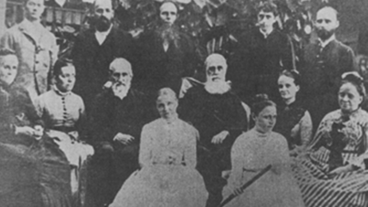 A group of ACM missionaries in Jaffna (circa 1890). Source: Two Centuries of Sri Lanka-American Friendship - A Pictorial Record by U.S. Information Service, Colombo - 1978