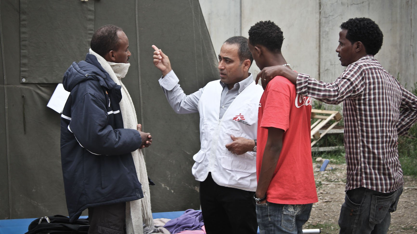 Ahmad Al Rousan is a cultural mediator for an MSF project in Rome providing psychological first aid to asylum seekers