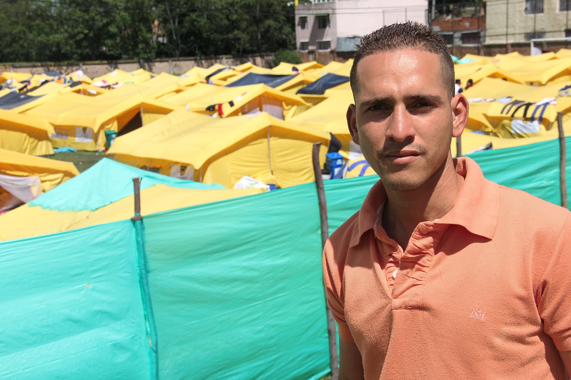"In Colombia, a first camp for Venezuelans but only as a ""last resort"""