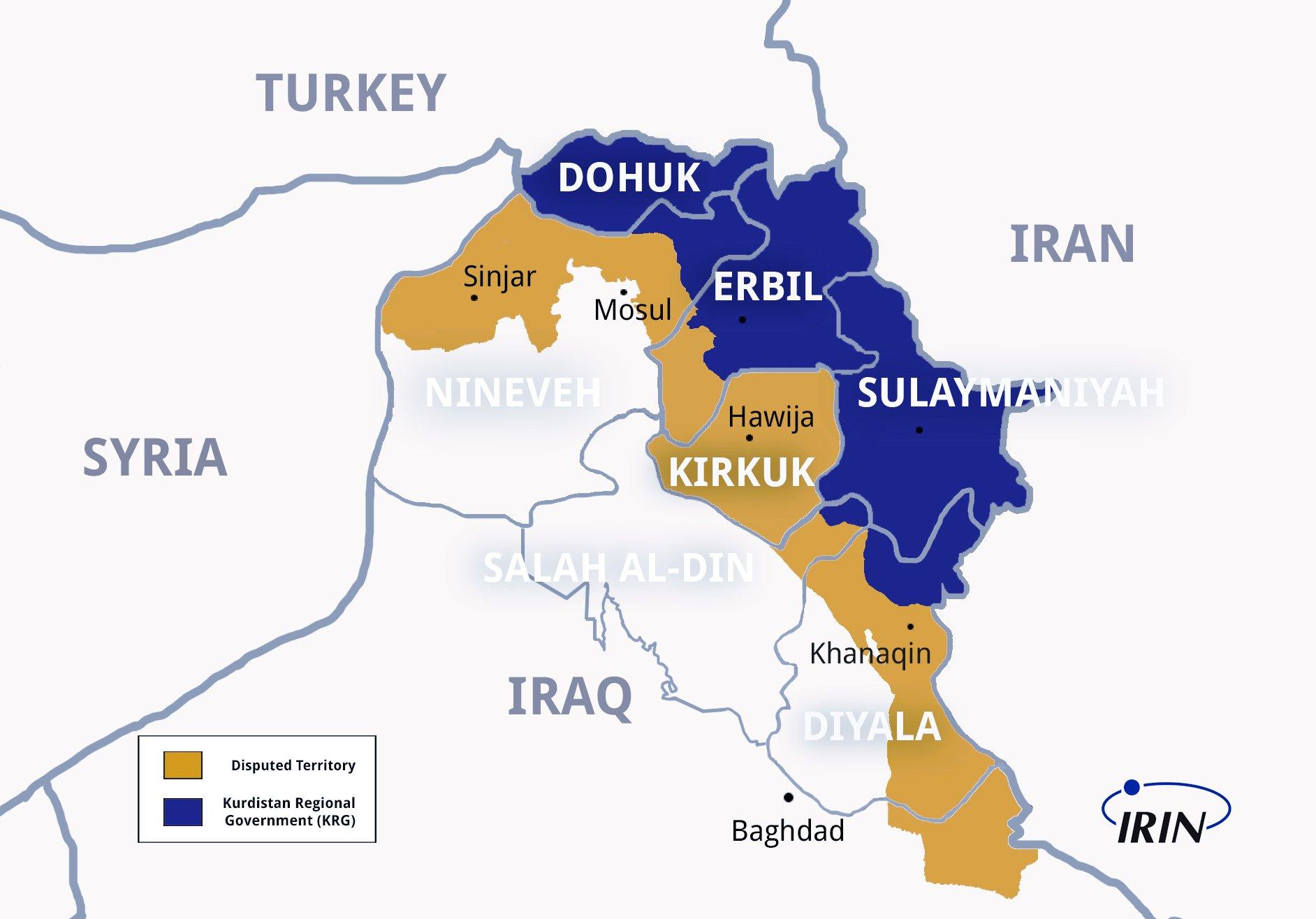Ethnographic map of South #Kurdistan by @AryanShahrazur link: u.osmfr.org