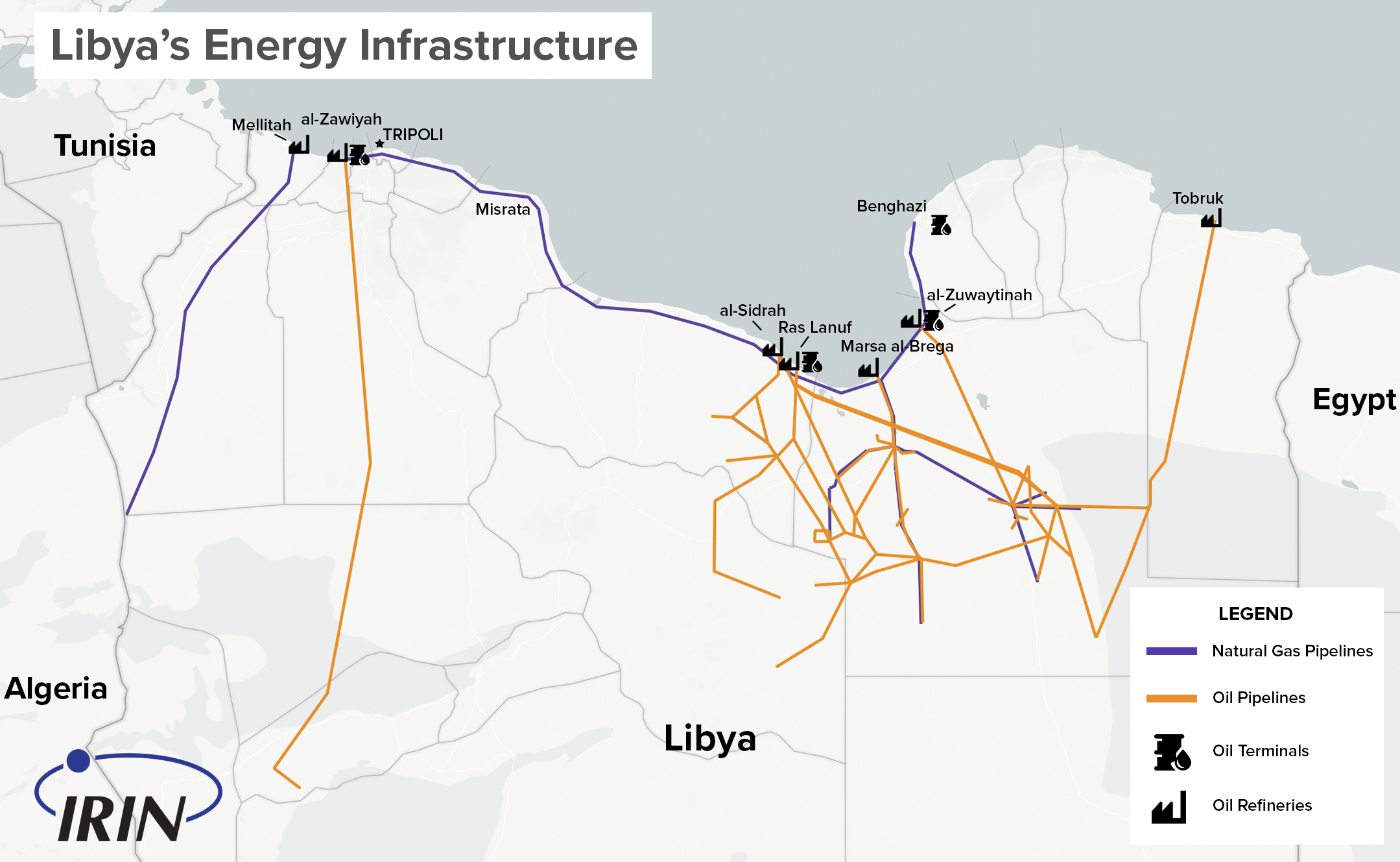 Irin libyan oil wars and the battle for tripoli the un backed government of national accord in tripoli and a third would be administration the national salvation government also in the capital publicscrutiny Images