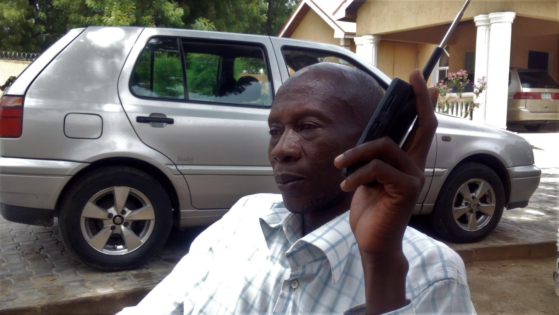 A radio Dandal Kura listener in Maiduguri