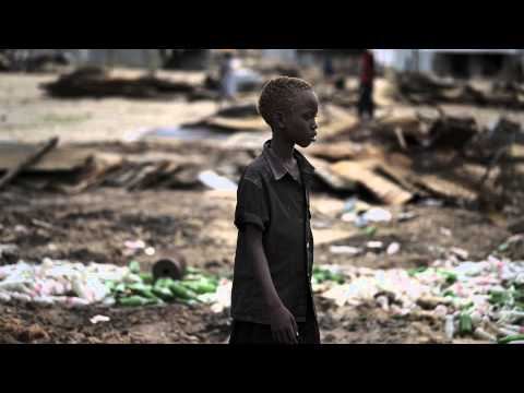 A town destroyed -- Leer, South Sudan