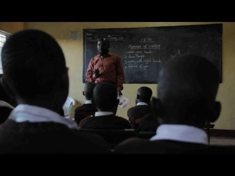 Said Mwaka, Headmaster in Kisumu