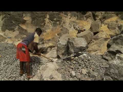 Kids in the City - Breaking Rocks