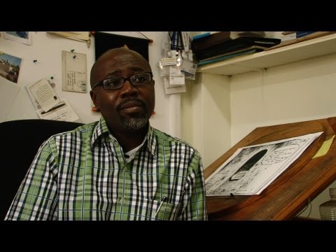 An IRIN interview with editorial cartoonist Gado
