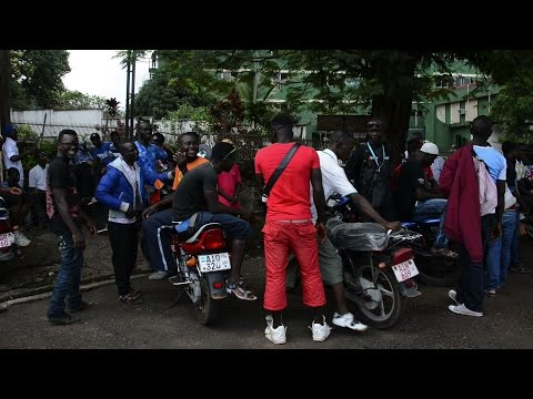 Okada motorbike drivers