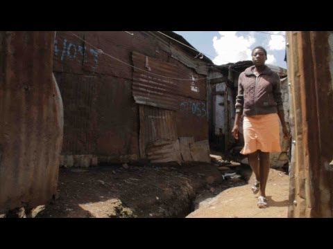 Edith Isah, Graduate in Mathare slum, Nairobi